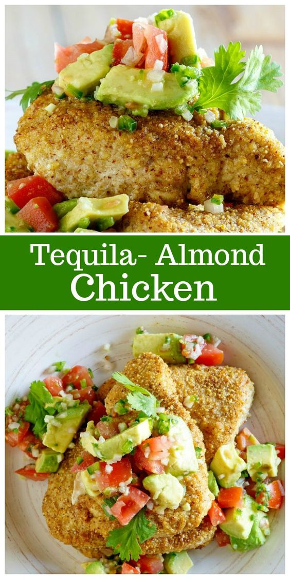 Tequila Almond Chicken
