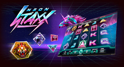 play Neon Staxx slot by NetEnt