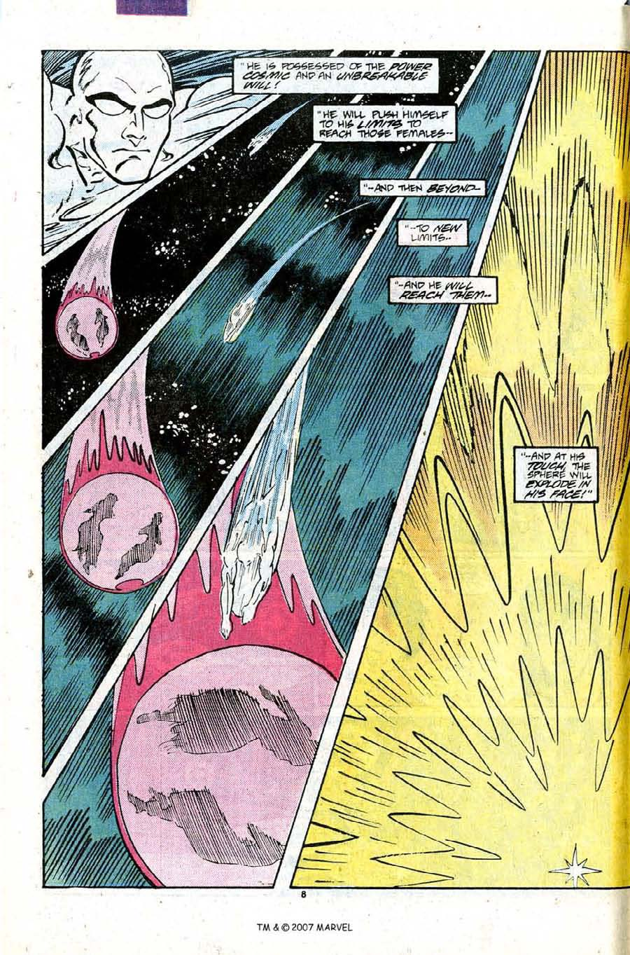 Read online Silver Surfer (1987) comic -  Issue #9 - 12