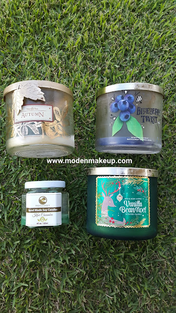 Bath and Body Works and Eden's Choice Naturals candle empties - www.modenmakeup.com