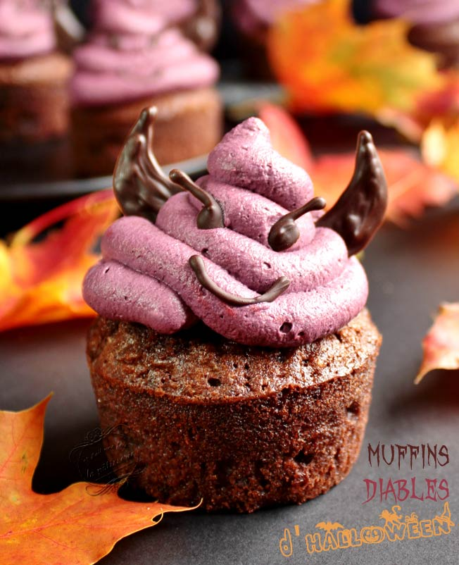 cupcakes diable halloween