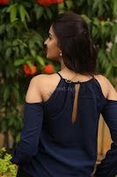 Poojita Super Cute Smile in Blue Top black Trousers at Darsakudu press meet ~ Celebrities Galleries 088.JPG
