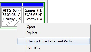 change drive letter how to hide or unhide disk partition in windows 7 20806 | change drive letter and paths