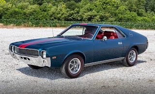 1968 AMC AMX Sports Coupe Front Left