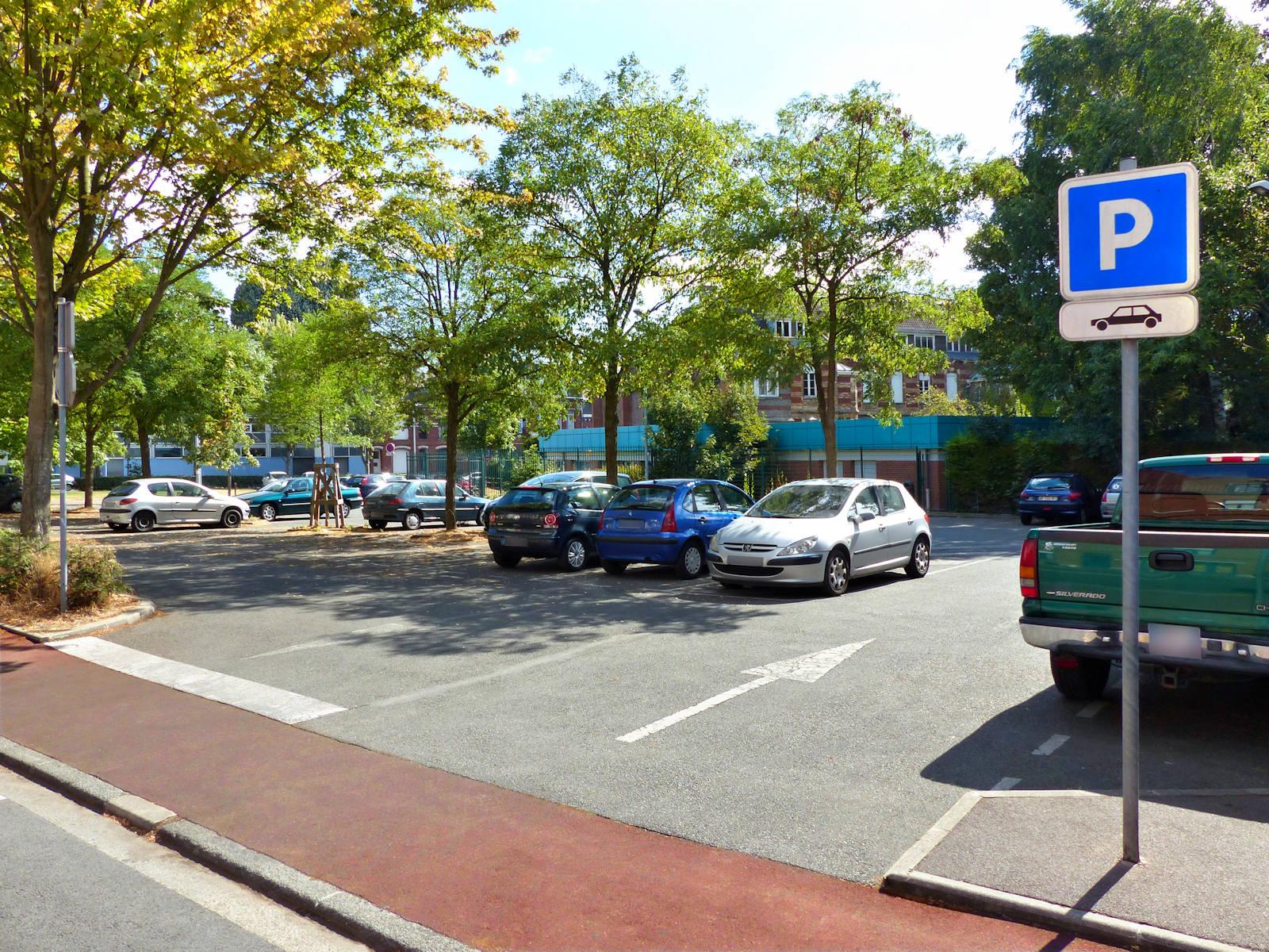 Tourcoing Parkings - Placette Célestin Freinet