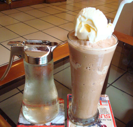 Cappuccino Float