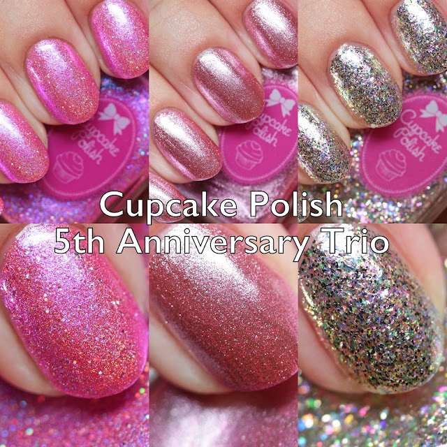 Cupcake Polish 5th Anniversary Trio