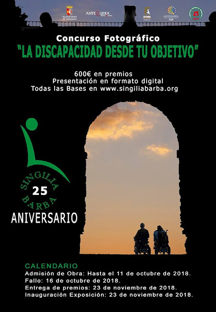 """Concurso de Fotografía """"La discapacidad desde tu objetivo"""""""