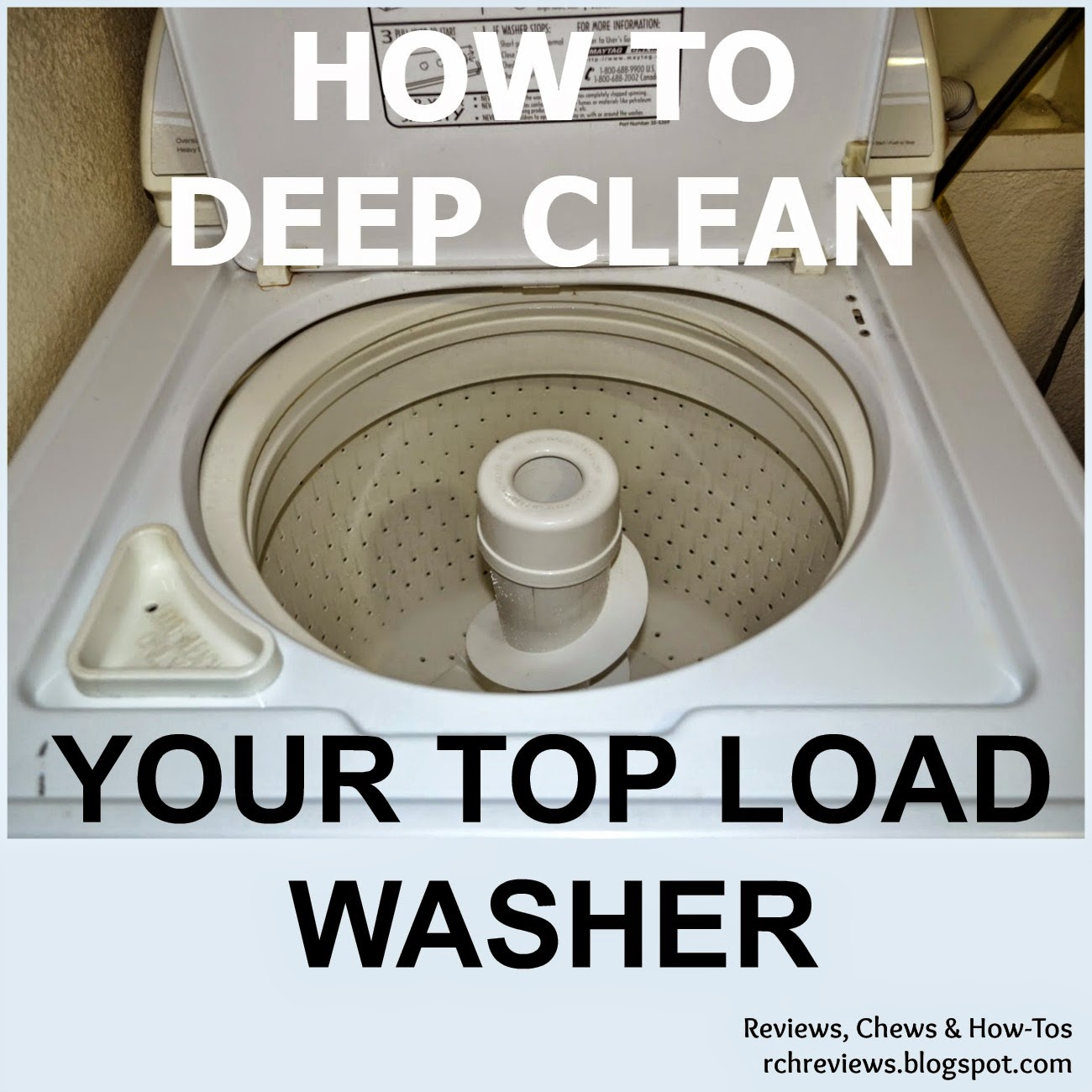 reviews chews how tos how to deep clean a top loading washing machine. Black Bedroom Furniture Sets. Home Design Ideas