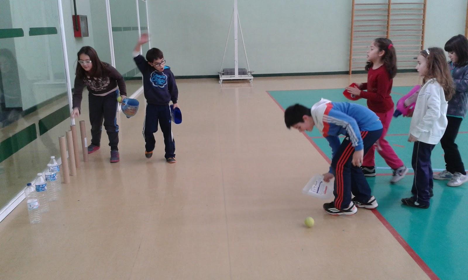 Educacion Fisica Ana Juegos Reciclados