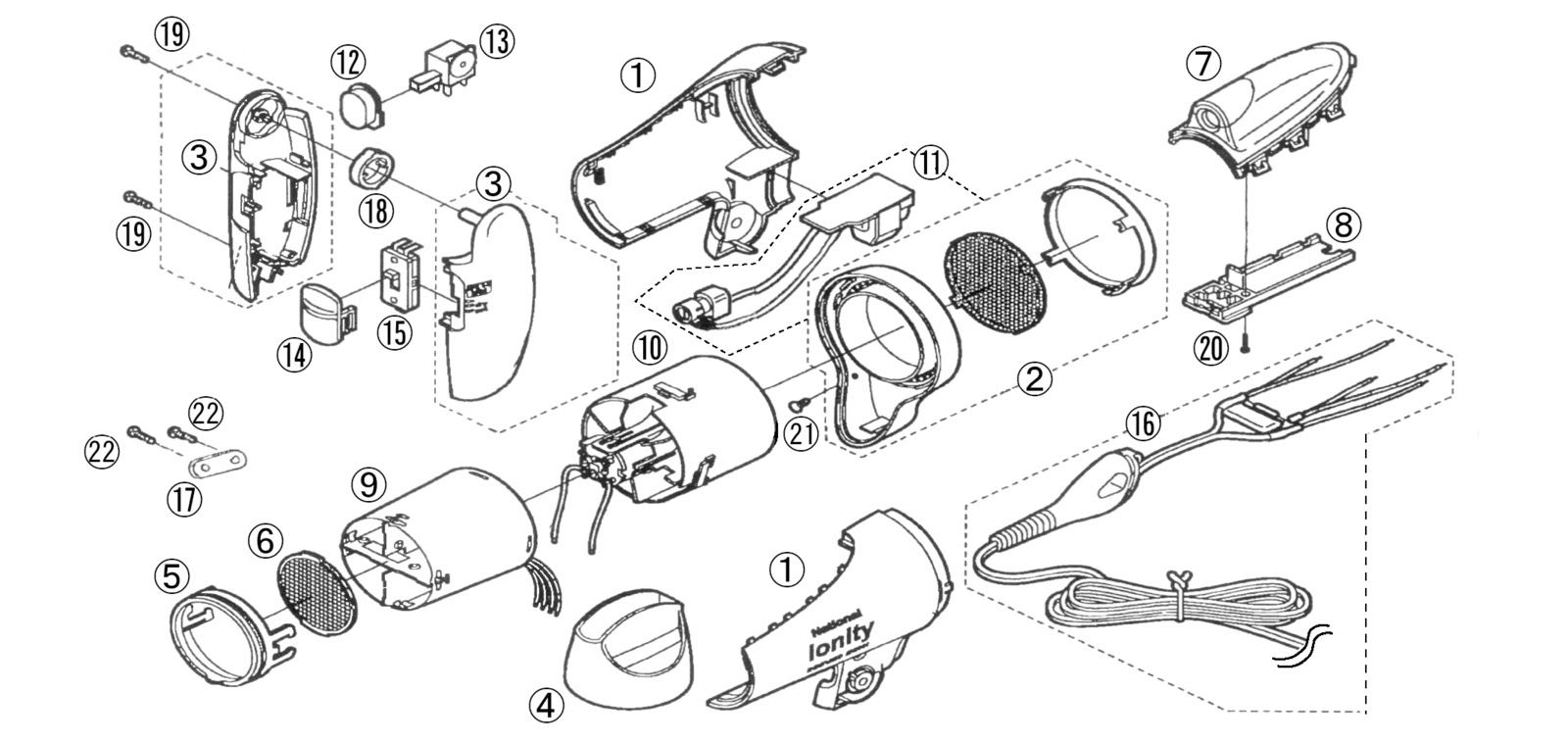 Wiring Diagram For Conair Hair Dryer Frigidaire Dryer