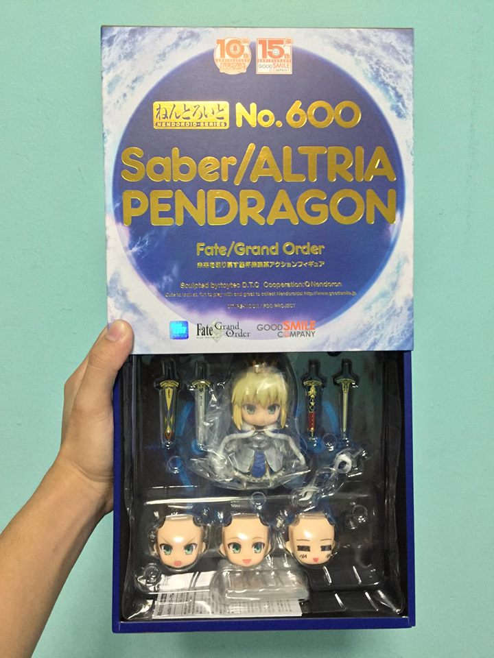 Figure Unboxing And Review Nendoroid 600 Saber Altria