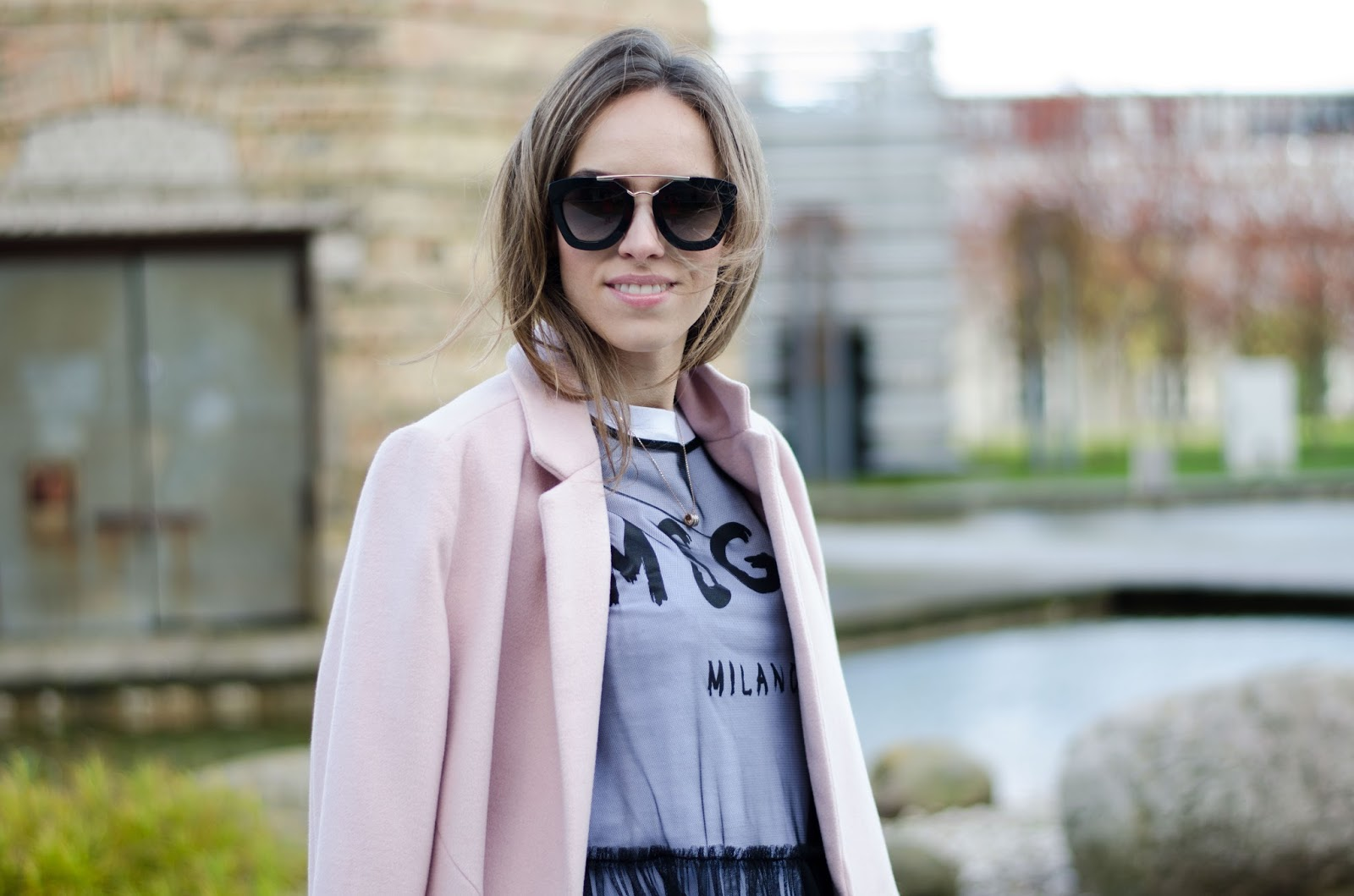 prada sunglasses fall outfit