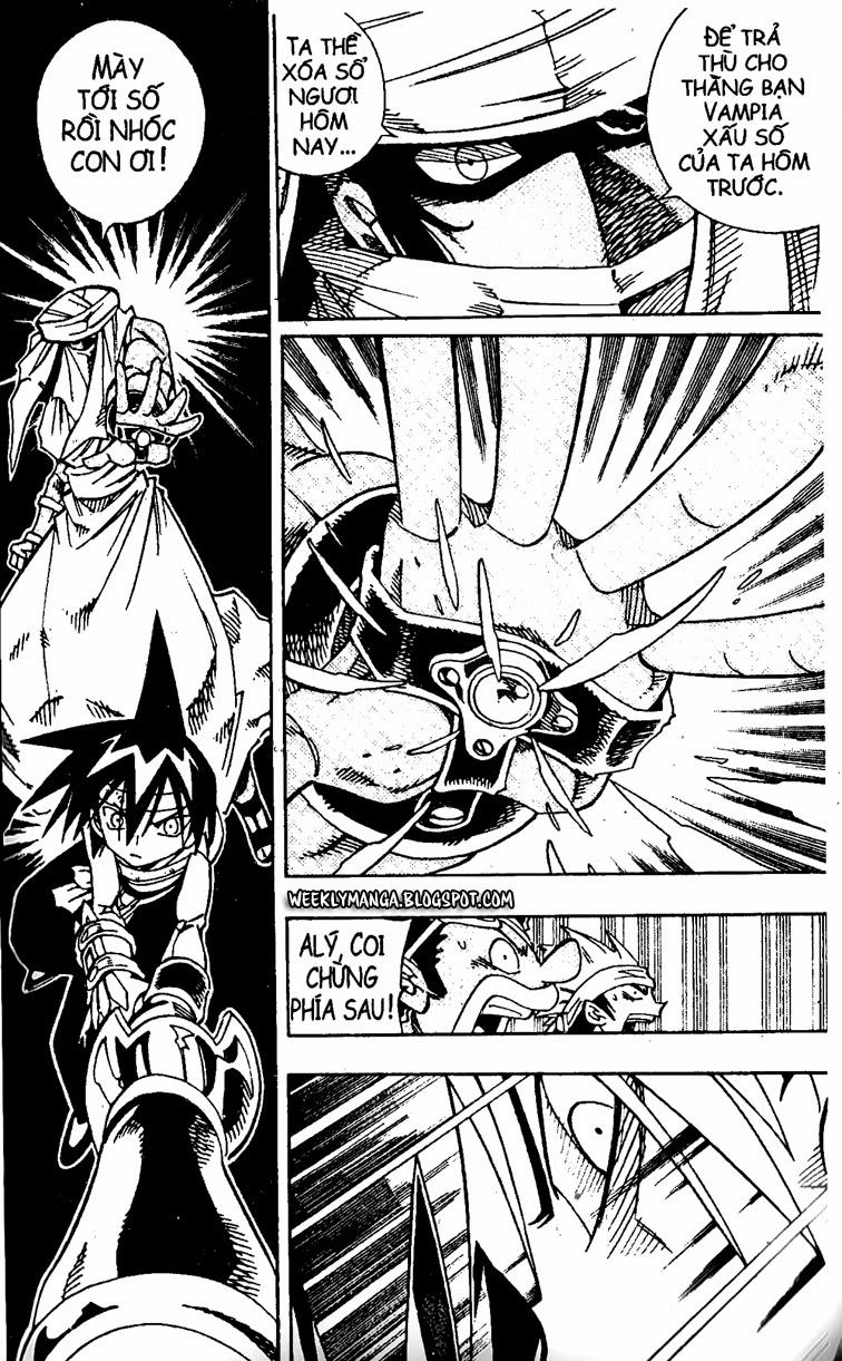 Shaman King [Vua pháp thuật] chap 150 trang 11