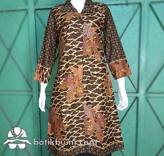 Tunik Batik buketan Mega mendung