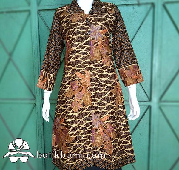 Tunik Batik Buketan Megamendung