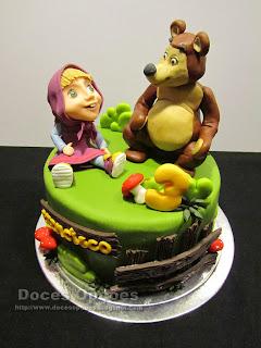 A Masha e o Urso foram ao aniversário do Francisco