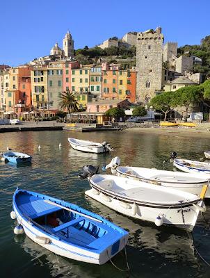 Portovenere Liguria on the Gulf of La Spezia