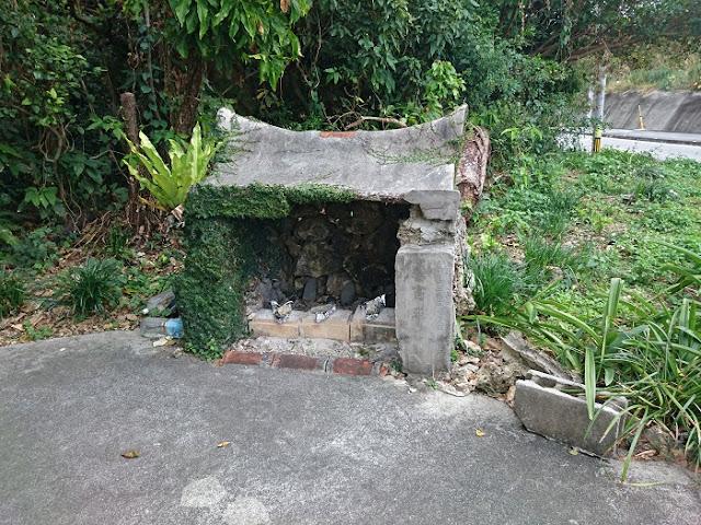 進寄奉の拝所の写真