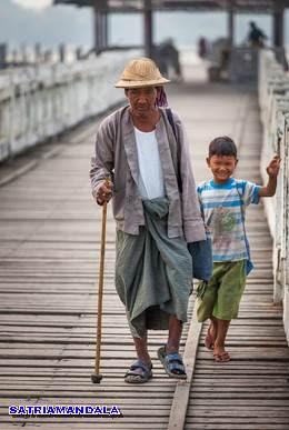 Jembatan Kayu Terpanjang Didunia