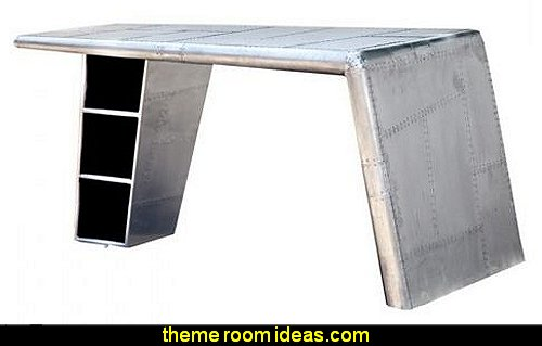 Large Desk firm aluminum Aviator spectacular handmade contemporary modern