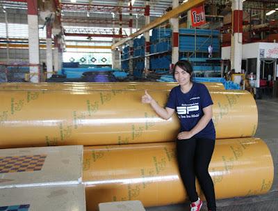 Buriram Round Upright Column Concrete Shuttering
