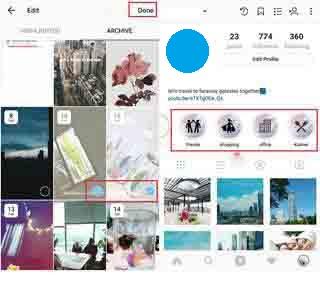 cara membuat sorotan di instagram mudah