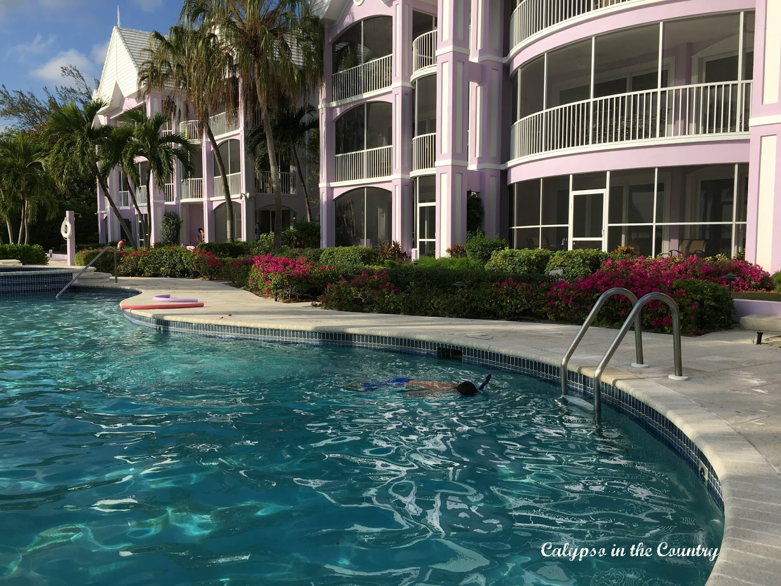Condo Pool Grand Cayman