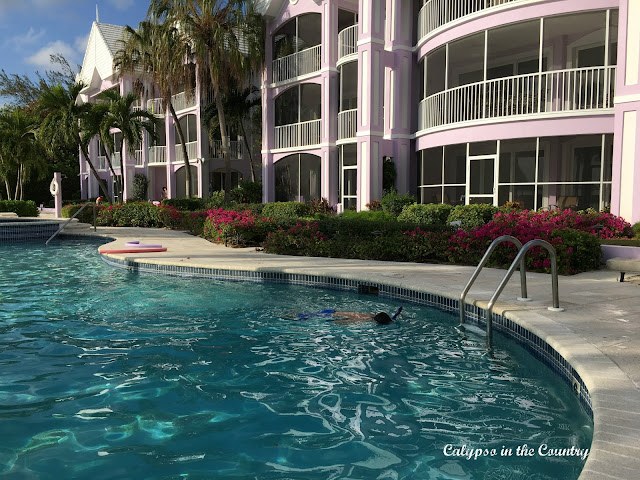 Condo Pool Grand Cayman