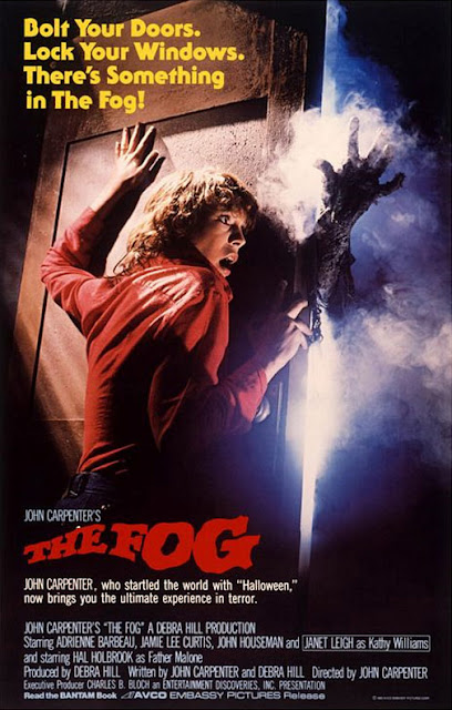 The Fog 1980 John Carpenter movie poster