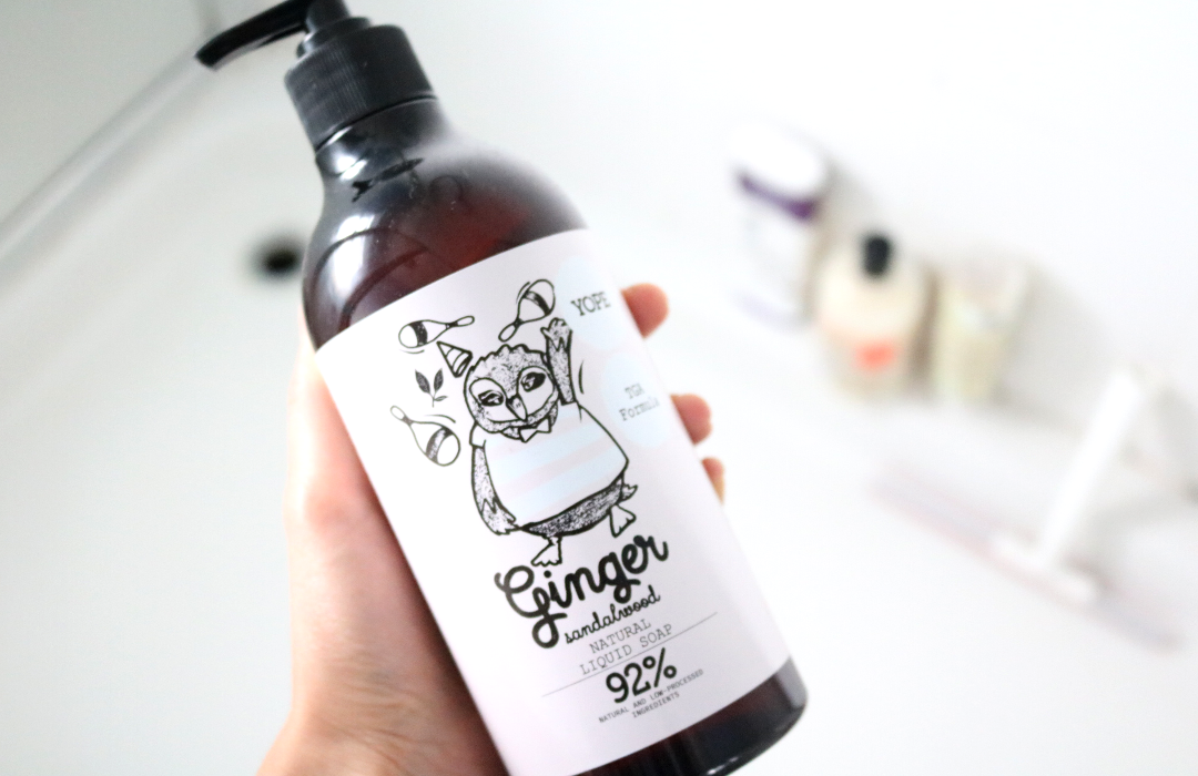 YOPE - Ginger Sandalwood Natural Liquid Soap review