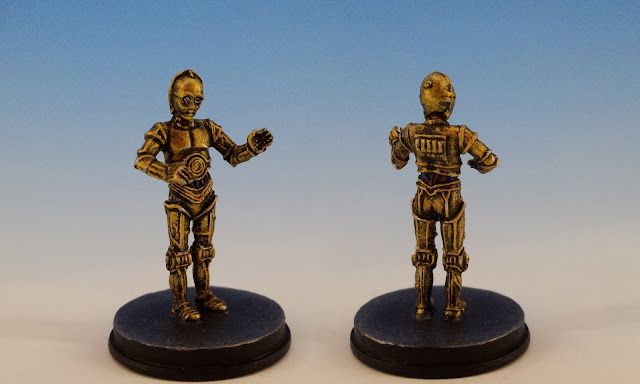 C-3PO, Imperial Assault FFG (2015, sculpted by B. Maillet)