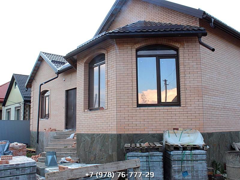 Строительство кирпичных домов под ключ проекты