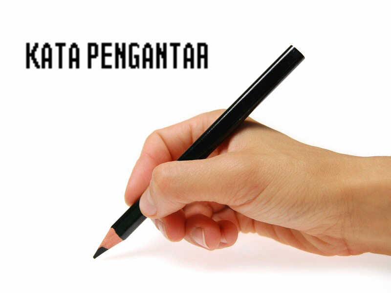 Kata pengantar makalah laporan proposal