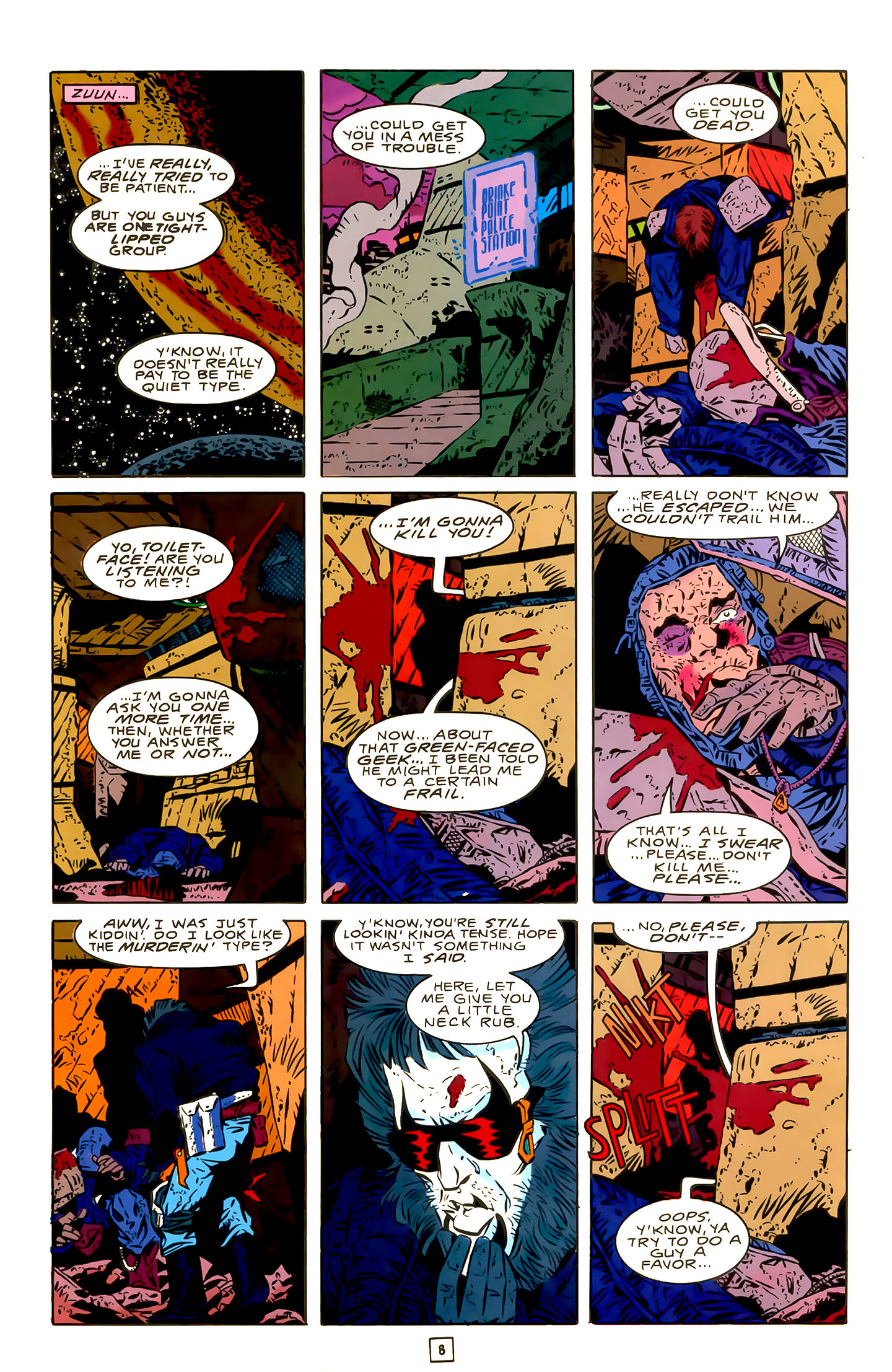 Legion of Super-Heroes (1989) 22 Page 8
