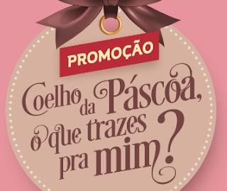 Cadastrar Promoção Coelho Da Páscoa O Que Trazes Pra Mim