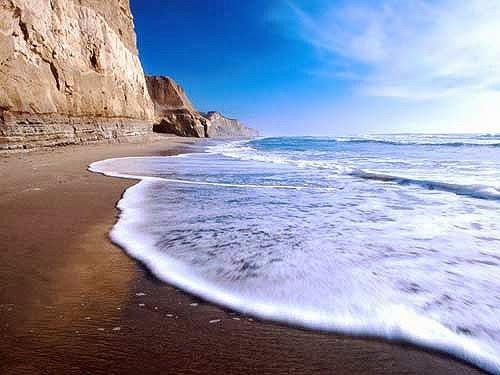 Ondas do Mar - espuma