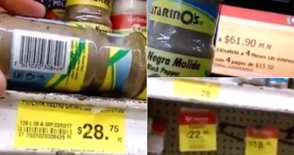 Cliente de Soriana denuncia que la tienda duplica precios del estante a la etiqueta (VIDEO)