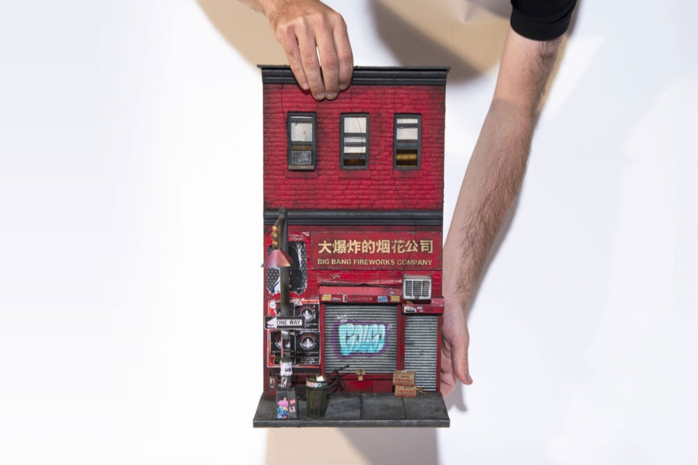 07-Big-Bang-Fireworks-Company-Chinatown-NYC-Joshua-Smith-Miniature-Sculptures-and-Stencils-to-Create-Architecture-www-designstack-co
