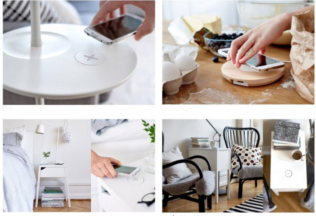 IKEA starts selling furniture with the possibility of wireless charging