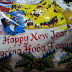 Bild des Tages - Happy New Year auf Mazedonisch