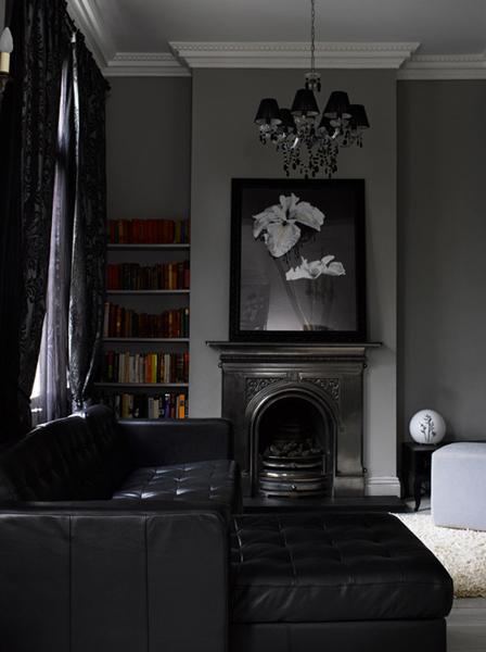 Mustard Living Room Decor: Grey With Mustard Details ♥ Сиво с детайли в цвят на