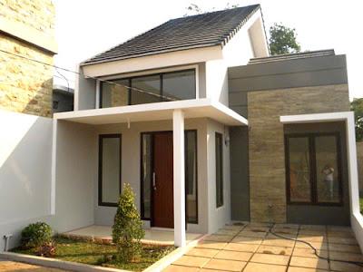 desain teras rumah minimalis simple
