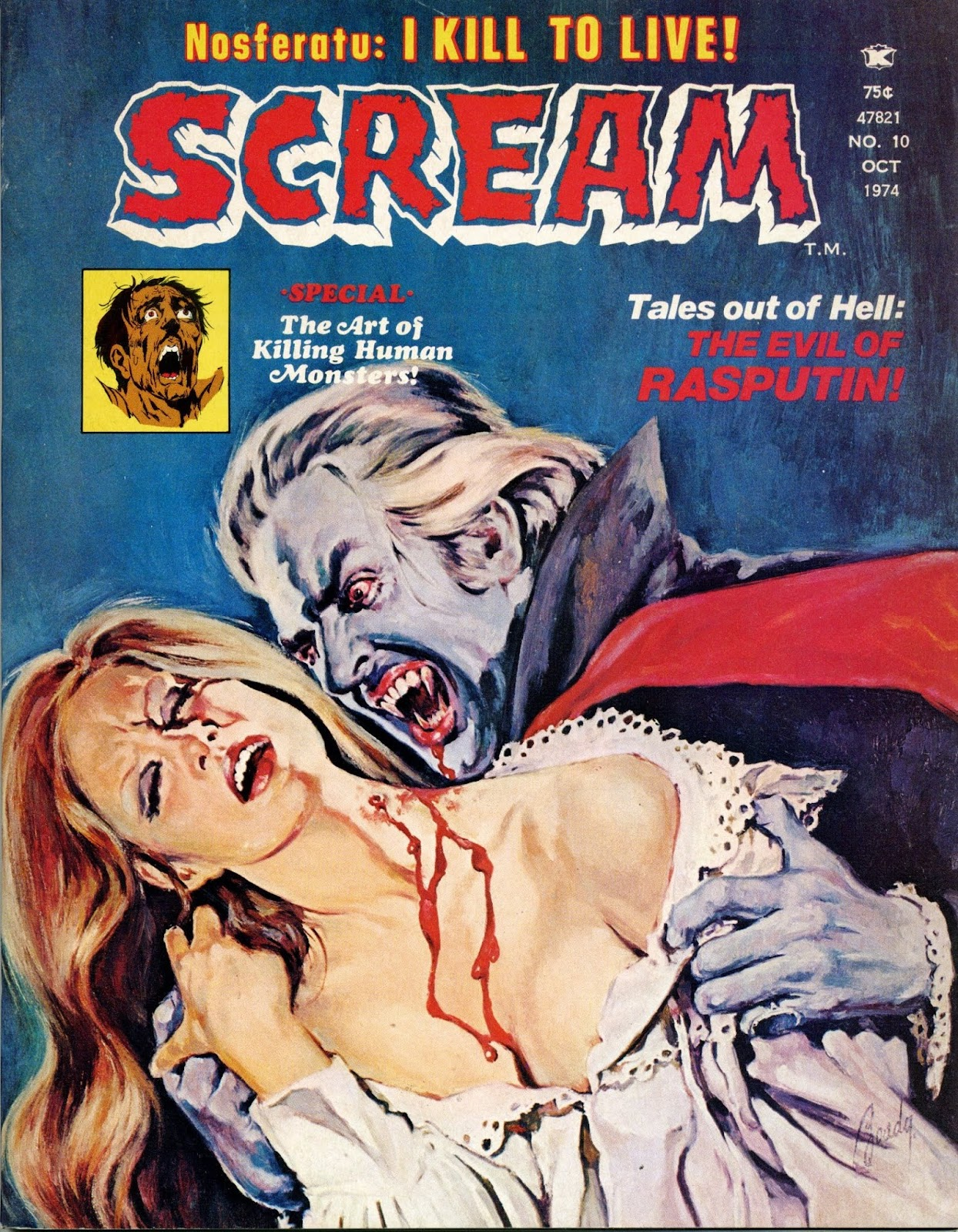 Scream (1973) issue 10 - Page 1