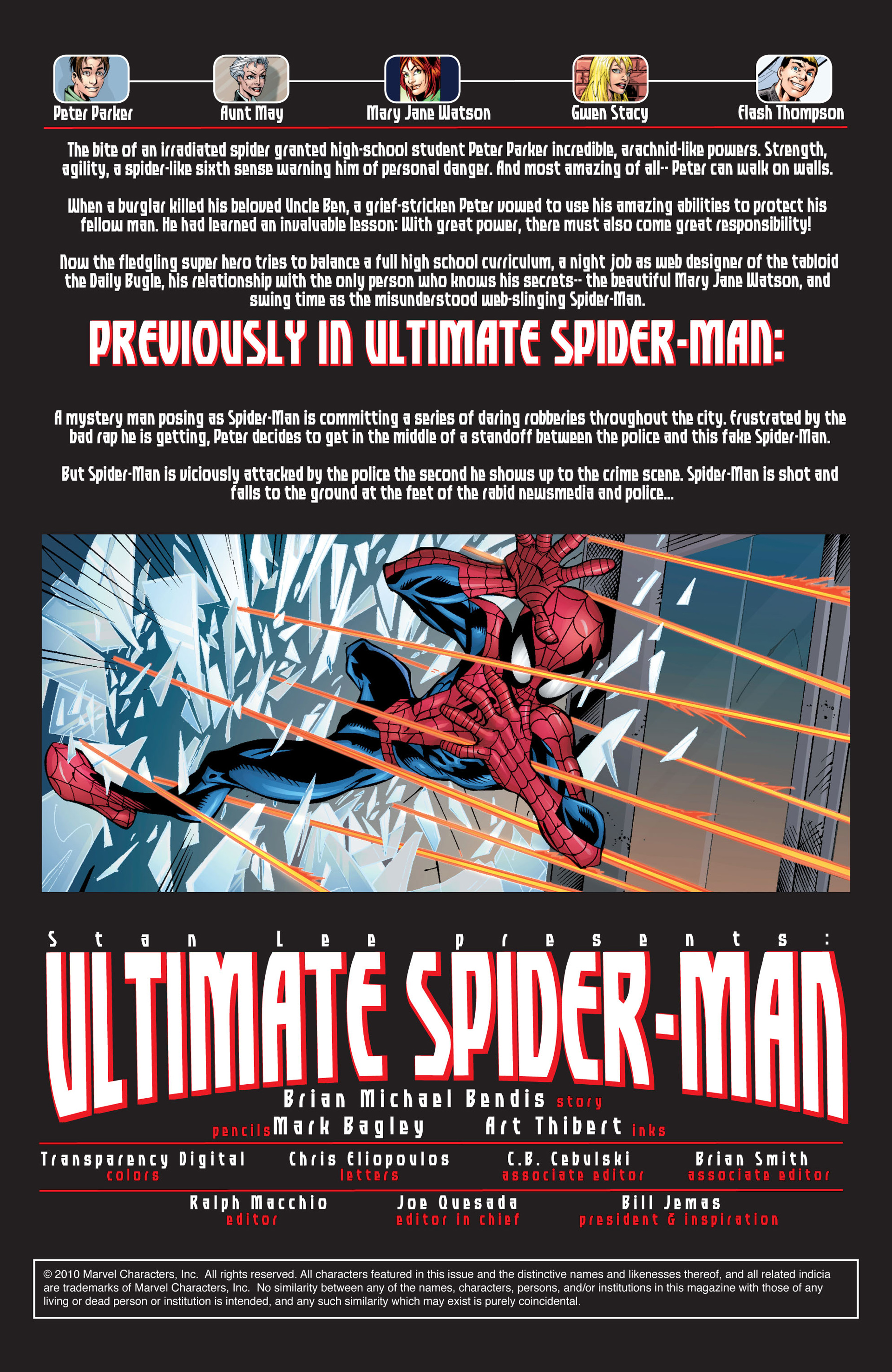 Read online Ultimate Spider-Man (2000) comic -  Issue #30 - 2