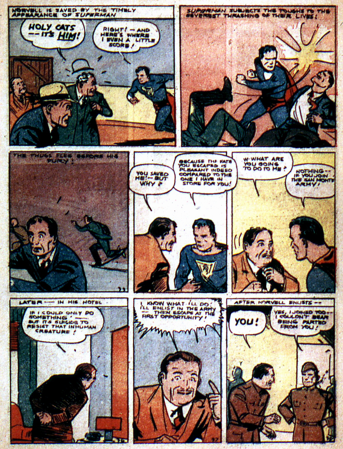 Read online Action Comics (1938) comic -  Issue #2 - 7