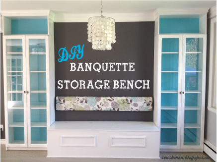 Dining room banquette diy. banquettes. dining room with a ...