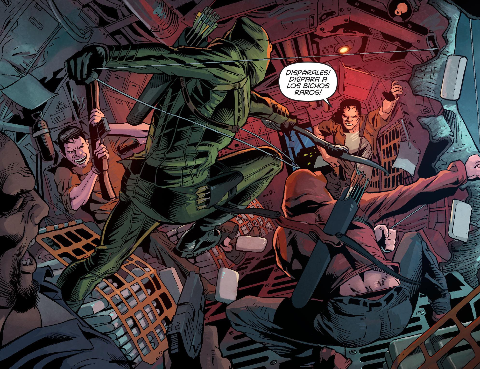 Read online Arrow: Season 2.5 [I] comic -  Issue #1 - 13