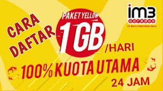 memang menjadi salah satu operator yang paling banyak dipakai oleh para pelanggan Cara Daftar Im3 Yellow Untuk Kemudahan Internet