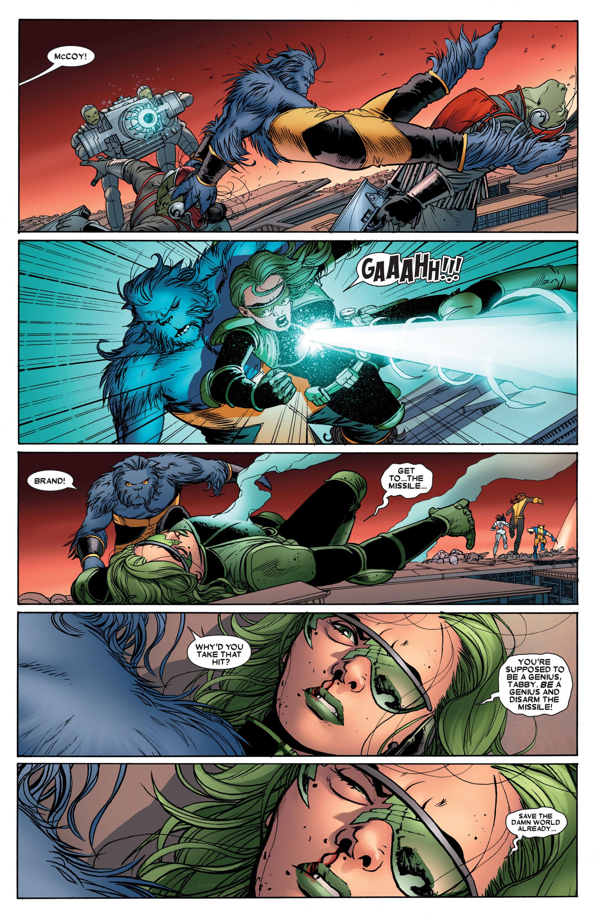 Read online Astonishing X-Men (2004) comic -  Issue #24 - 17